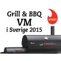 Grill & BBQ-VM 2015 i Sverige!