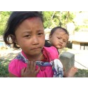Nepal jordbävning 2015 barn