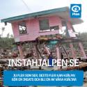 Plan lanserar INSTAHJÄLPEN till förmån för tyfonens offer