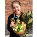 Final i SM för unga plåtslagare 2015: Vinnare, Sofia Sörliden, Anders Ljungstedts gymnasium, Linköping