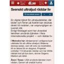 Svensk ny teknik grodde i 9 månader på Mama Mia