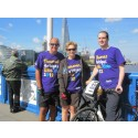 Team Sandwell take on the Thames Bridges Bike Ride for stroke