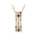 Smyckekvaliten 28 november, Nr: 49, BVLGARI, collier, Allegra Diamond and Color Stone Three Row
