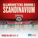 En klassiker är tillbaka i Scandinavium - allmänhetens åkning den 30 oktober