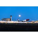 Norwegian 737-800 departure at Arlanda