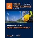 Empower mukana Vaasa Wind Exchange-tuulivoimatapahtumassa 17.-18.3.2015