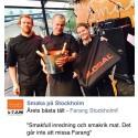 Farang vann pris för bästa tält på Smaka på Stockholm.