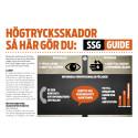 SSG erbjuder informationsblad kring högtrycksskador