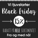 Blueboxshop.no tjuvstarter Black Friday