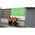 Internationellt besök idag på Gästrike återvinnare