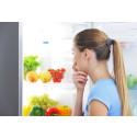 Fem feil i kjøleskapet