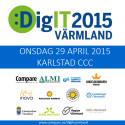 Programmet nu klart för DigIT Värmland - en bred regional kraftsamling kring digitala omställningen