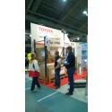 Toyota Material Handling Finland Oy - Toyotan turvallisuustuotteet herättivät kiinnostusta Eurosafety 2014-messuilla