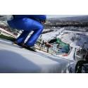 Vi er offisiell datasponsor for verdenscupen i skihopping og kombinert