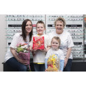 Local Eye Cancer Campaign Poster Star Officially Opens New Look Vision Express Store in West Byfleet