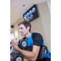 Jesper tränar på Itrim