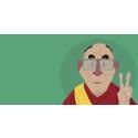 Dalai Lama i animert utgave