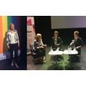 31 – FREDAG #sthlmpride15: Stort intresse när Ebba Busch Thor frågades ut