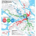 Bo priser vid tunnelbanan i Stockholm