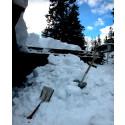 - Fjern snø og istapper fra taket