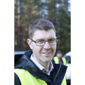 Sortimentsgripens tillverkare, Tomas Jonsson, vd, Hassela skogsprodukter