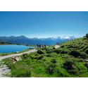 Aktiv sommarsemester i Alperna med vandring och kurbad