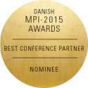 MCI Copenhagen er nomineret til prisen som årets Best Conference Partner - MPI Awards 2015!