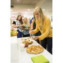 Vafler serveres til studenter i New York