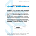 World Classic Tour press release