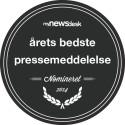 Årets bedste pressemeddelelse - nomineret