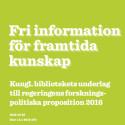 KB lyfter fem förslag inför regeringens forskningsproposition