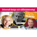 Universell Design & Välfärdsteknologi diskuteras innan Funka för livet i Halmstad