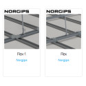 Norgips adds Flex system for suspended ceilings as BIM objects on the BIMobject Cloud for ArchiCAD