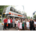 SMRT Double Deckers to Begin Service on 13 July 2014