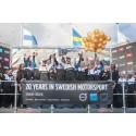 Thed Björk tar historisk STCC-titel för Polestar Cyan Racing