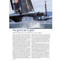Case Study - ORACLE TEAM USA turns to TeXtreme® to reduce weight
