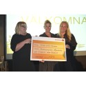 GöteborgsVarvet delar ut 1,3 miljoner till välgörenhet