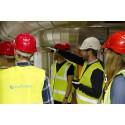 LTH-studenter läser kraftverksteknik på Örtoftaverket