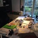 Skrivbord - Före