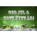 Vi önskar alla våra kunder och samarbetspartners en riktigt God Jul och ett Gott Nytt År
