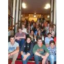 Mayor says 'Hola' to students from Valencia