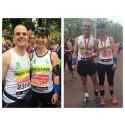 Parents set new World Three Legged Marathon Record at London Marathon for son