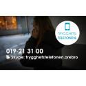 Pressinbjudan: Örebro brottsförebyggande råd presenterar Trygghetstelefonen