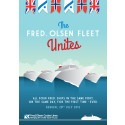 Fred. Olsen Cruise Lines' fleet comes together for the first time ever – in Bergen – on 28th July 2015