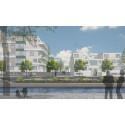 Pressinbjudan inför nyproduktion av HSB brf Strandkanalen i Gävle