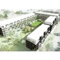 Veidekke bygger 128 leiligheter i Malmø