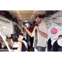 Passengers enjoy 125mph humour