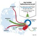 Mobiltrafik afslører københavnernes rejsemål i julen