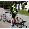 60 mil på tandemcykel för Nepal
