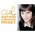 Frida Nilsson tilldelas Astrid Lindgren-priset